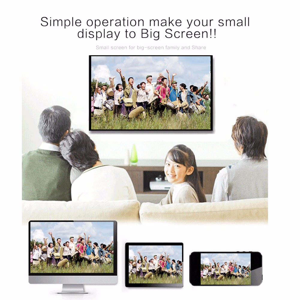 MiraScreen 2.4G TV Stick HD Wi-Fi Display Better Than EasyCast EZCAST Airplay Miracast Airmirroring Chromecast for IOS Android
