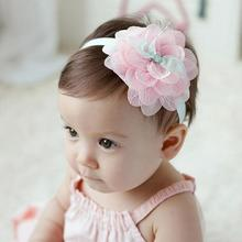 Buy TWDVS Cute Kids Lace Flower Headband Newborn Elastic Hair Bands Ring Flower Hair Accessories W252 for $1.10 in AliExpress store