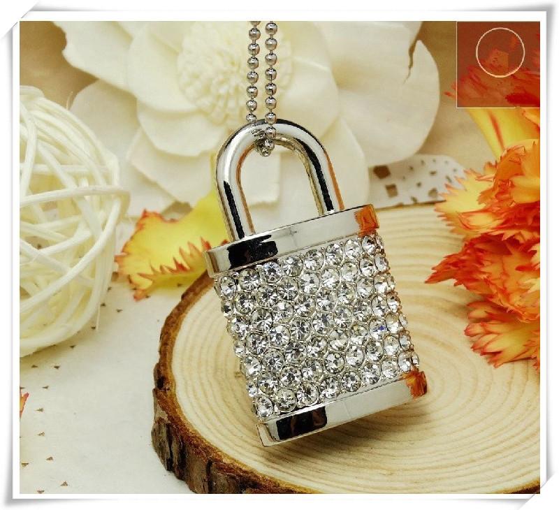 lock metal Jewelry usb flash drives USB 2.0 Memory Drive Stick Pen/Thumb/Car 4gb 8gb 16gb 32gb 64gb S55(China (Mainland))