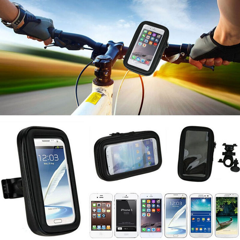 Bike Bicycle Phone Holder Motorcycle Accessory Smartphone Cycling Handlebar Mount Stand Soporte Movil Mobile Cell Case For Moto(China (Mainland))