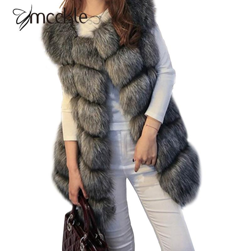 2016 winter coat women faux fox fur vest brand shitsuke fuorrure femme fur vests fashion luxury peel women's jacket gilet veste