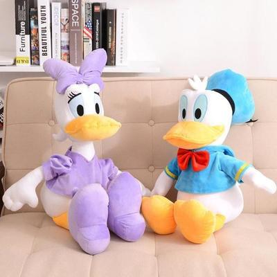 Free Shipping!Hot Selling! 2pcs/pair 32cm New 2014 Lovely Donald Duck Plush Toys Stuffed Animal Doll Soft Toys For Children(China (Mainland))