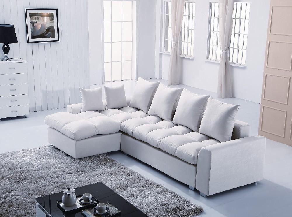 America Home Decorator Living Room Fabric Sofa Bed B657 # Living Room L shaped Fabric Corner modern fabric sofa(China (Mainland))
