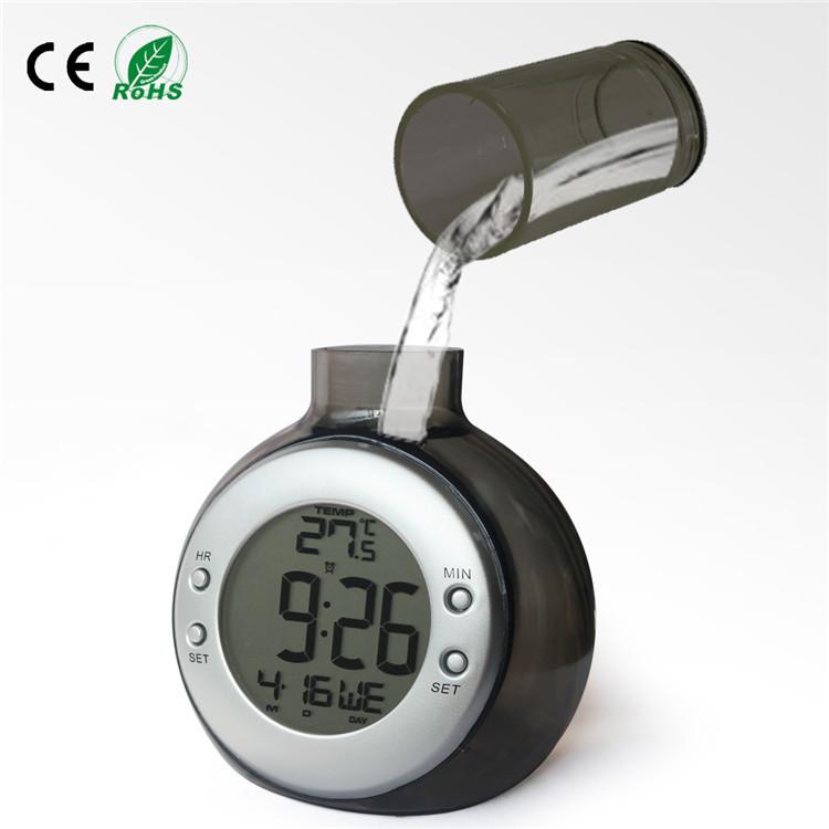 Creative clock water power instead of the battery big screen clock alarm kids alarm clock - Unique alarm clocks for teenagers ...