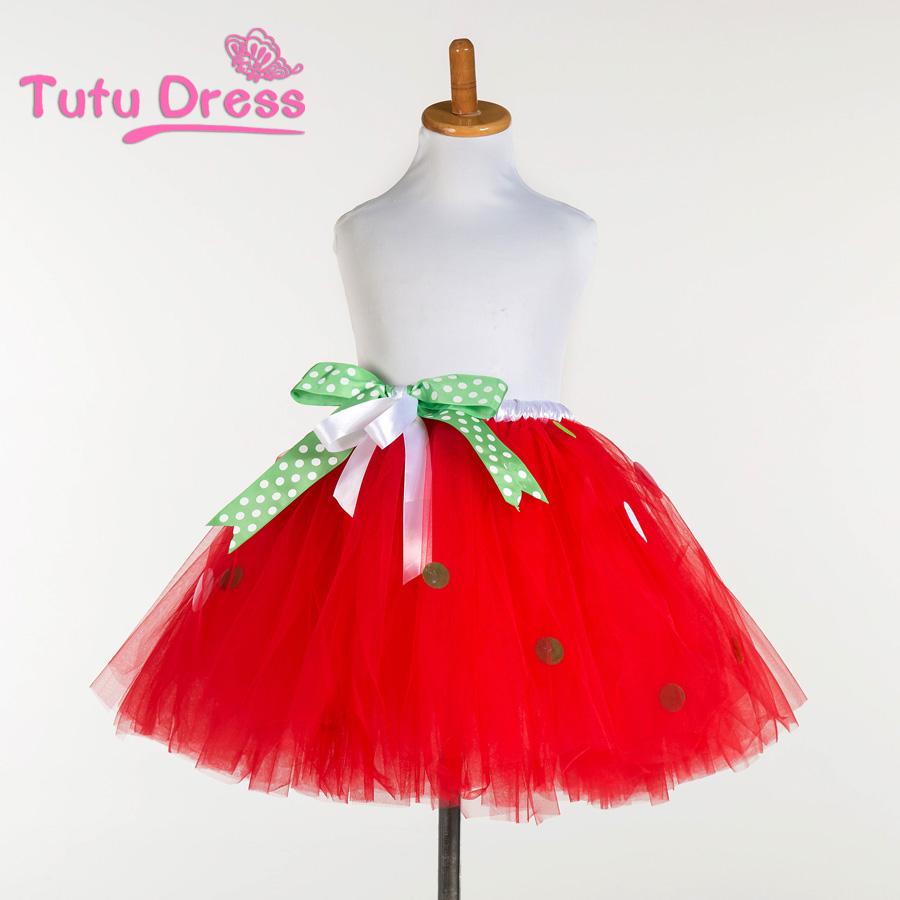 New fashion girls tutu skirts baby ballerina skirt childrens fluffy pettiskirts kids casual red color with shinning dots skirt(China (Mainland))
