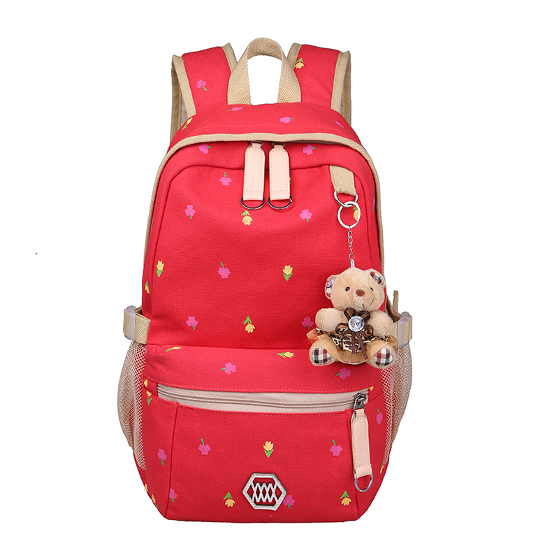 free shipping 2015 new shoulder bag backpack schoolbag school students doubles tide Korean Institute of wind bag canvas computer(China (Mainland))