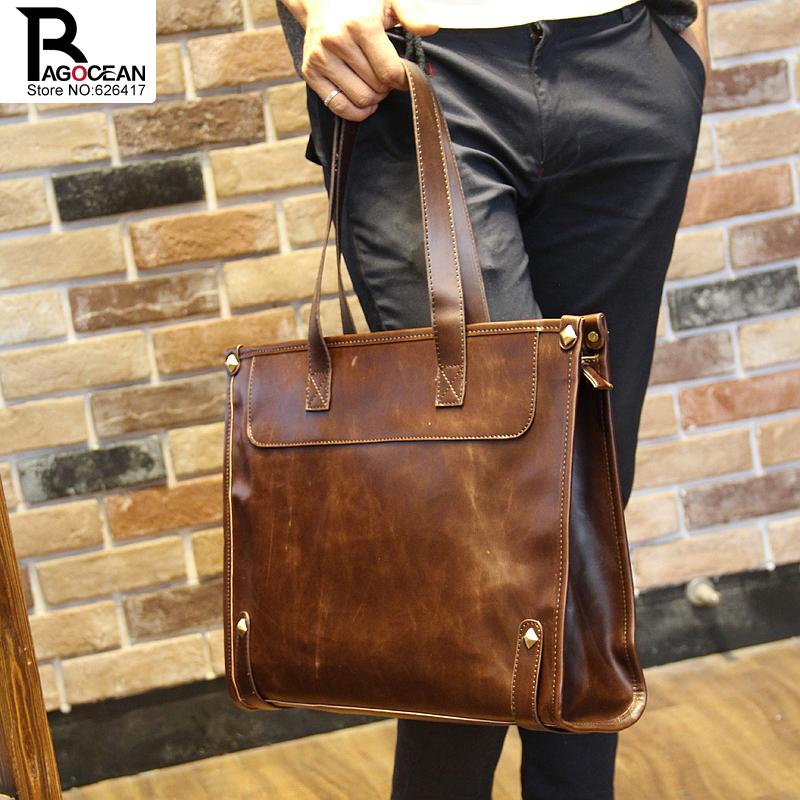 Hot sale!! New PU Leather Men Bag Briefcase Handbag Men Shoulder Bag Laptop Bag,free shipping<br><br>Aliexpress