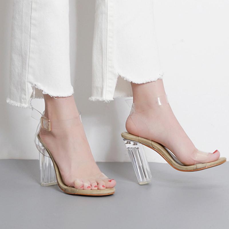 Popular Crystal Clear Wedding Shoes-Buy Cheap Crystal Clear ...