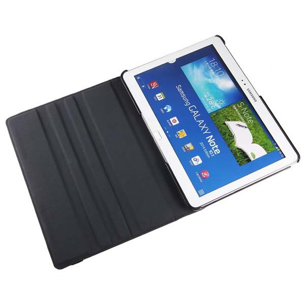 Гаджет  FREE  Samsung Galaxy Tab Pro 10.1 Tablet Rotating Case Cover - Leather 360 Degree Stand SM-T520/T521/T525 with Auto Sleep None Компьютер & сеть