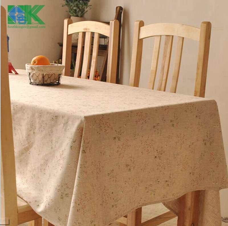 Home decors new Vintage crown linen table cloth coffee side table towel tablecloth shabby chic home decoration/toalha de mesa ,(China (Mainland))