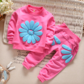 2016 Spring and Autumn Baby Girls Cloths Young Children Clothes 2 3 4 Years Old Cotton
