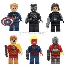 Marvel Super Hero Star Wars Friends City Deadpool Batman Minifigures Building Blocks Set Model Bricks Toys Compatible