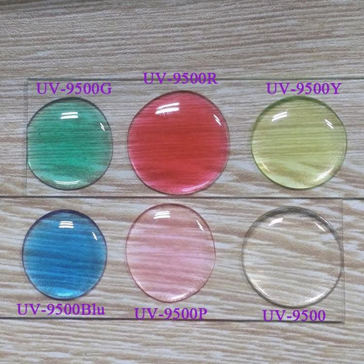 доминга прозрачный УФ УФ-9630 смола УФ смолы жесткой кристально полушария