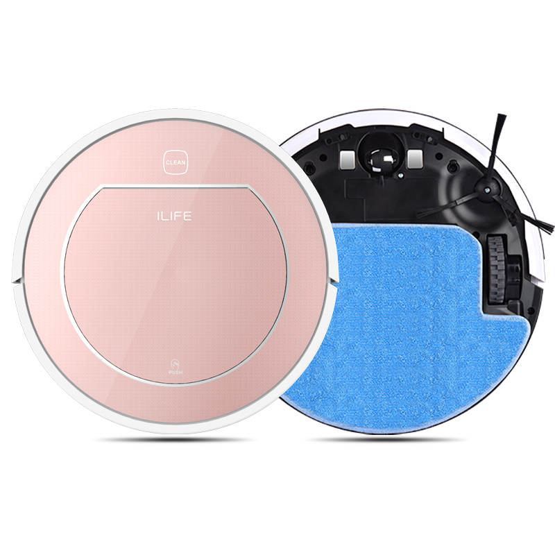 2016 ILIFE 2 in 1 Robot Vacuum Cleaner for Home Wet and Dry Clean Large Water Tank Double Filter,Ciff Sensor V7S ROBOT ASPIRADOR(China (Mainland))