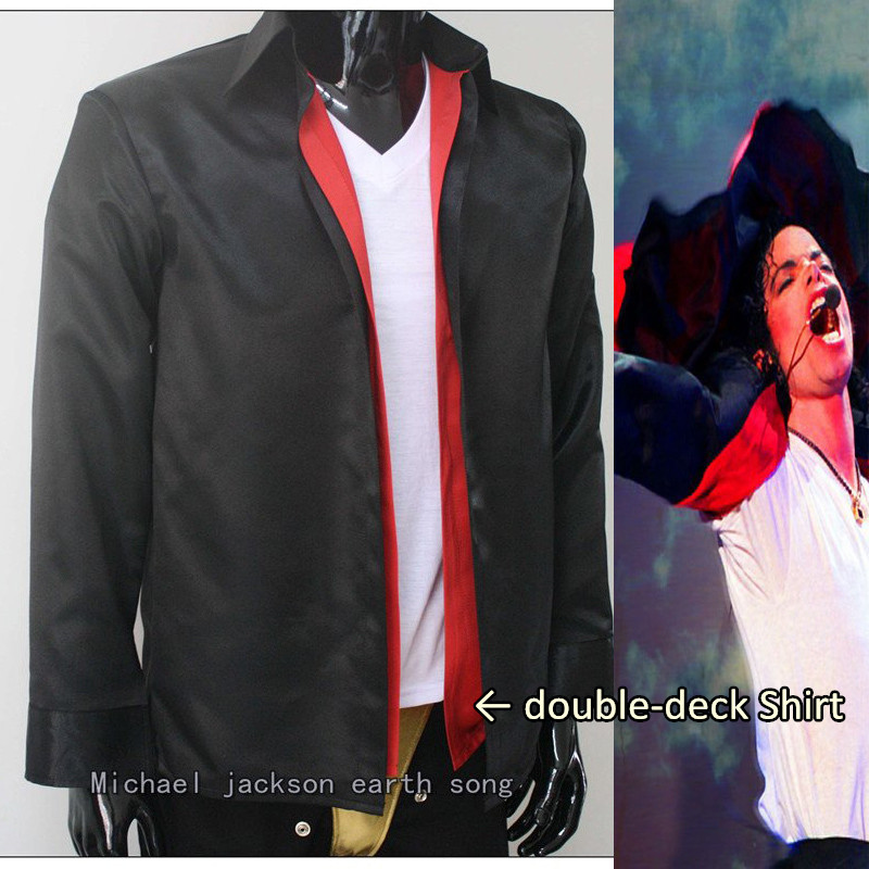 MJ Michael Jackson classic clothing Earth Song Shirt - Pro SeriesОдежда и ак�е��уары<br><br><br>Aliexpress