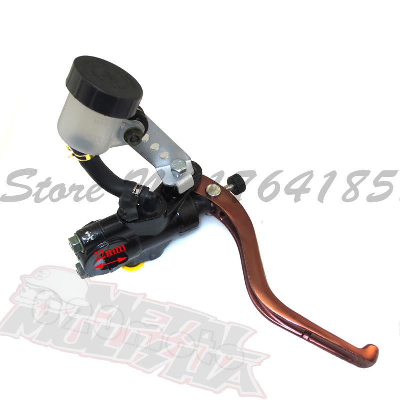 "Racing Dirt Pit Bike ATV brembo Motorcycle brake pump Brake master cylinder for 7/8"" Handlebars hydraulic brake Right(China (Mainland))"
