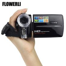 FLOWERLI New 3 Inch TFT LCD 720P HD 20MP Digital Video Camcorder 16x Digital Zoom DV Camera High Quality #0(China (Mainland))