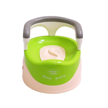 Contract Baby 2 in 1 Potty Chair Home Use Kids Comfortable Portable Toilet Assistant Eco-friendly Potty Baby Care Accessories
