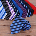 16 colors silk men ties red 8 cm neck tie for Men cravat mens neckties silk