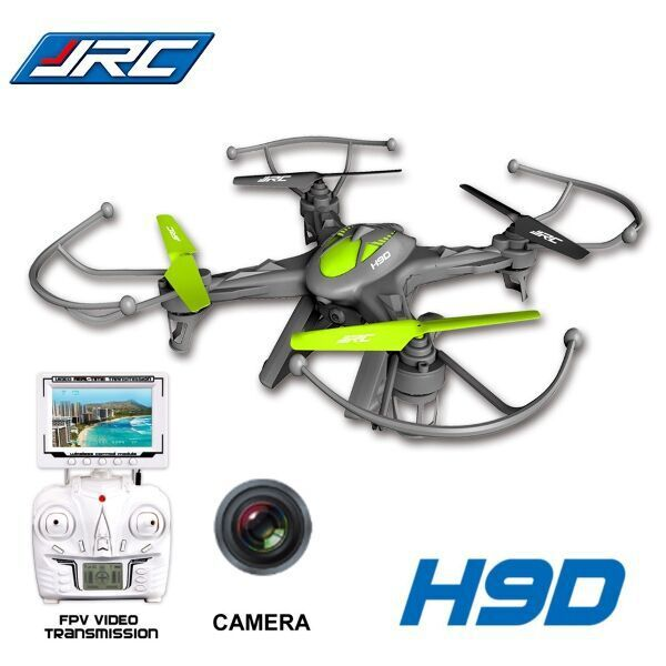 2.4G 6Axis Gyro JJRC H9D FPV Digital Transmission RC Quadcopter Micro Drone 0.3MP Camera Drone(China (Mainland))