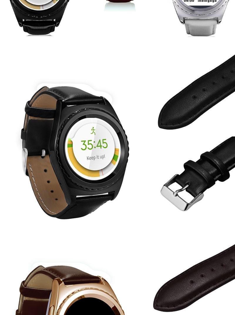2016 НОВЫЙ № 1 G4 Bluetooth смарт часы андроид часы для IOS Iphone Android Samsung S2/s3/s4/s5/примечание 2/примечание 3 HTC Смартфонов