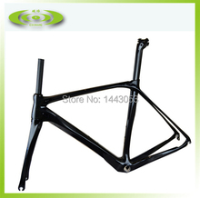 OEM carbon bike frame 100% carbon road bicycle frame on sale with free shipping(China (Mainland))