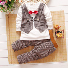 2016 Spring Autumn Baby Boys Clothing Sets ,children Suit,  Kids Clothes Boys Set Toddler Boy Clothing Wedding Birthday Party(China (Mainland))