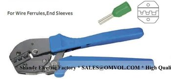 10-25mm2   8-3AWG NEW GENERATION OF ENERGY SAVING CRIMPING PLIERS For Wire Ferrules,End Sleeves
