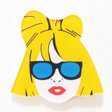 1 pz Cartoon Icone Fresco Icone Distintivo su Zaino Spilla Spilli Per I Vestiti Della Ragazza della principessa Acrilico Distintivi e Simboli per le donne ragazze regalo(China)