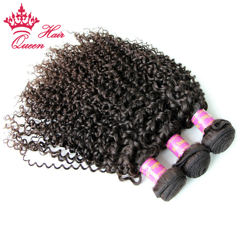 Queen Hair 100% Brazilian Virgin Hair Jerry Curly Brazilian Human Hair 3pcs/lot Weaves Bundles Human Hair Products DHL Free<br><br>Aliexpress