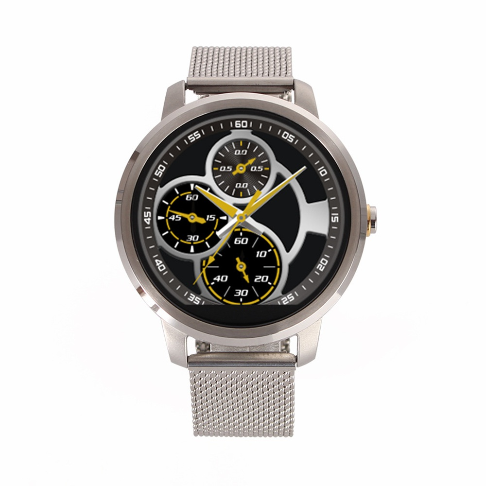Smart WristWatch SV360 Intelligent Clock with Golden Silver Strap HD Camera Bluetooth Pedometer for Android SmartPhone Cellphone<br><br>Aliexpress