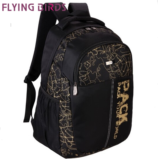 FLYING BIRDS!School Bags mens travel bags Backpack Brand laptop package men travel outdoor sport Bag hiking backpacks LM0168c<br><br>Aliexpress