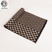 2015 fashion designer Men Classic Scarf  Winter Warm Soft Fringe Striped Tassel Shawl Wrap  scarf men's scarves(China (Mainland))