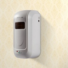 1000ml ABS Wall Mounting Automatic Sensor Soap Dispenser Waterproof White Hands-free sensor Soap Dispenser Bathroom Accessory (China (Mainland))