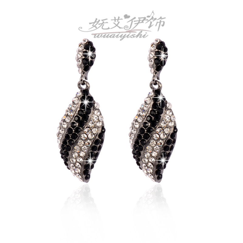 Star Magazine Accessories Manufacturers Selling Korean Fashion Exaggerated Earrings High-grade Earrings(China (Mainland))