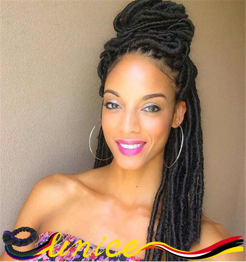Crochet Goddess Locs : Goddess Synthetic Dreads Faux Locs Free Shipping Hot Sale Crochet ...