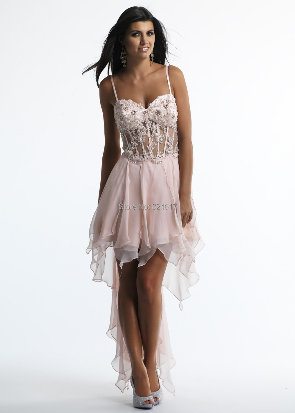 Homecoming Dresses Lace Up Back 85