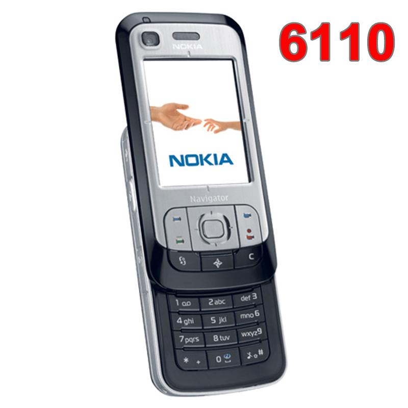 Refurbished Original Unlocked NOKIA 6110 Navigator Mobile Phone Russian keyboard Arabic Keyboard(China (Mainland))