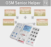 auto dialer gsm elderly guarder with Talking voice keypad / buttons senior mobile phone ,panic button(China (Mainland))