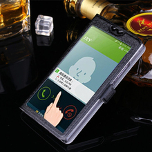 Buy 5 Colors View Window Case Sony Xperia S LT26i LT26 Luxury Transparent Flip Cover Xperia LT26I Phone Case for $2.83 in AliExpress store