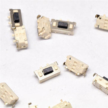 100Pcs 3x6x3.5mm SMT SMD Tact Tactile Push Button Switch SMD Surface Mount Momentary MP3 MP4 MP5 Tablet PC power button switch(China (Mainland))
