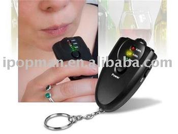 Mini Accurate Breath Alcohol Tester, Breathalyzer tester.