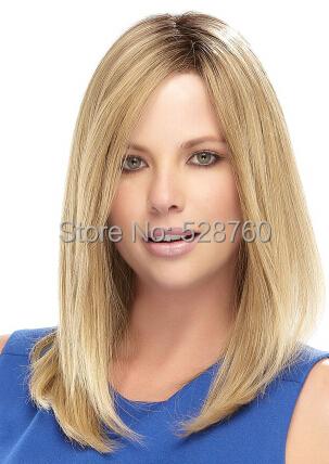 aliexpress charming blonde medium length hair
