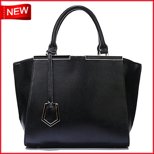 New vintage women bag designer Wax leather solid color handle  bag fashion luxury Women Tote Bags<br><br>Aliexpress