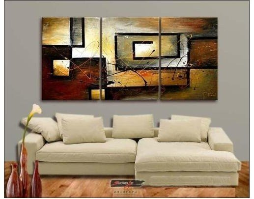 ABSTRACT ART ANIMAL TIGER OIL PAINTING 3PCS Guaranteed 100% Free shipping