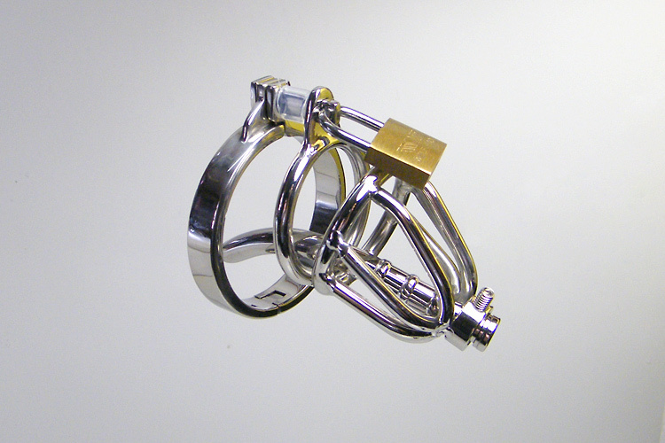 Latest Small Male stainless steel Cage cb3000 chastity male Chastity Device wit thick Catheter and non slip ring boy in chastity<br><br>Aliexpress