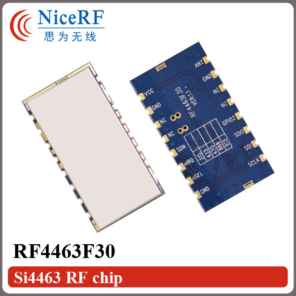 2pcs RF4463F30 SI4463 915MHz FSK Wireless Transceiver Module (Not including Antenna)(China (Mainland))