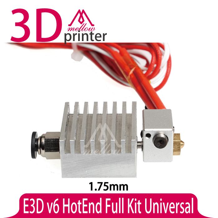 Здесь можно купить  E3D All-metal v6 HotEnd  Thermal head nozzle print head extruder upgrade Full Kit for 1.75mm 3D printer Universal   Компьютер & сеть