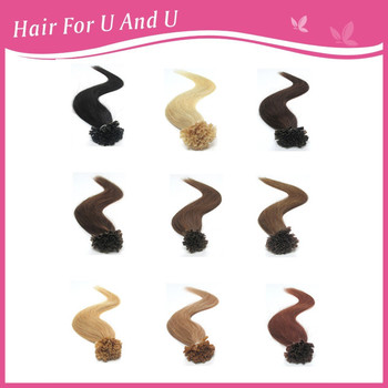 100s 16 18 20 22 26inch blonde remy fushion keratin u tip hair extensions human hair extensions for white women