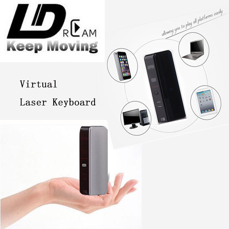 Best quality Virtual Laser Keyboard and Mouse for iPad iPhone tablet Mini Speaker Wireless Bluetooth projection Keyboard(China (Mainland))